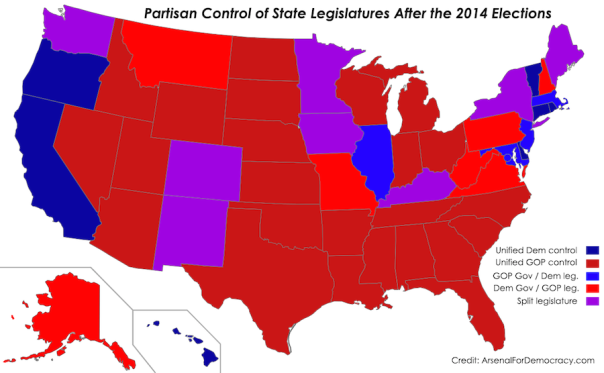 2014-US-elections-state-legislatures-results-map