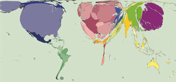 A mmutilitarianist world map   Medianism.Org